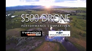 $500 CAMERA DRONES - Yuneec Q500 4K vs. DJI Phantom 3