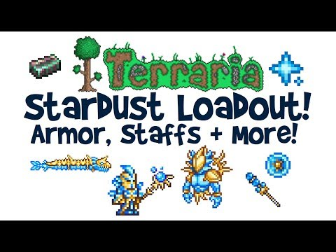 """À¸Š À¸¡à¸Šà¸™ Steam À¸§ À¸"""" À¹'อ Terraria Stardust Armor Stardust Dragon Cell Staff Guardian Loadout How To Get Much More Keep in mind they don't need to have the best stats. cell staff guardian loadout"""