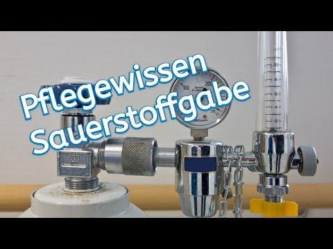 Wissenswertes zur Sauerstofftherapie/Applikation