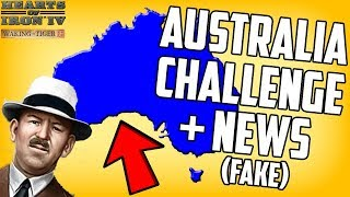 Hearts of Iron 4 HOI4 Rimmy Exposed and Australia Challenge (Road to 56 Mod)