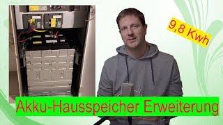 (Akku)Hausspeicher-Erweiterung auf über 9 kwh