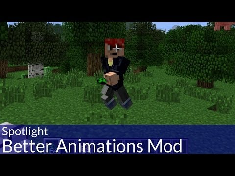 Spotlight: Minecraft Better Animations Mod
