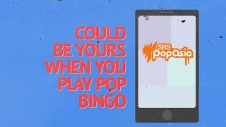 Play Pop Bingo to win a BTS Prize Pack