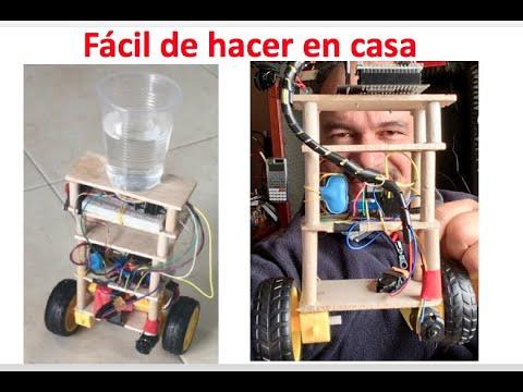 ✅ Mira la Construcción del Robot Balancín - Péndulo Invertido con control PID