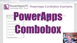 PowerApps Combobox - Search, Filter, Default values, and more