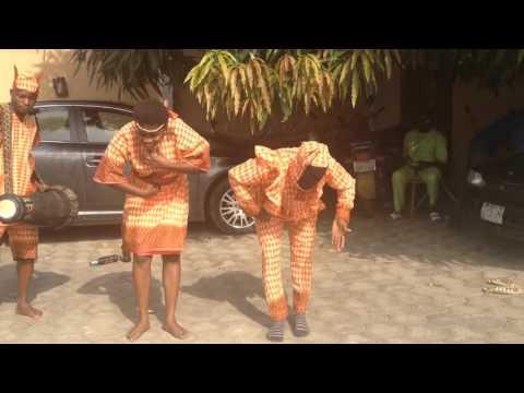 Ayanshina Khalid Yoruba Bata dance ....Afrikambo Nigeria
