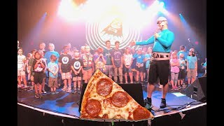 THE AQUABATS | PIZZA DAY CROWD SURFING