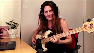 Silvery Sometimes (Ghosts)   The Smashing Pumpkins | Bass Cover By Catalina Villegas