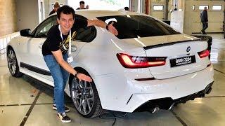 Новая BMW M340i – почти 400 л.с.! Тест-драйв на автодроме Алгарве или гоночный обзор!)