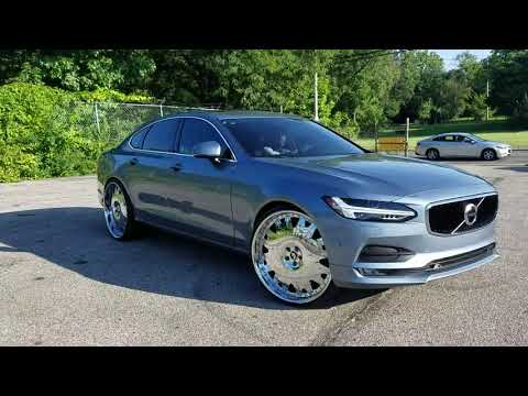 Volvo s90 on 24 inch Forgiatos enzo