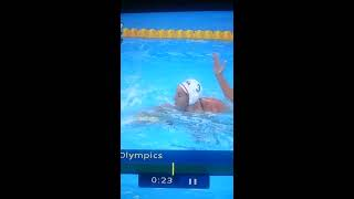 2012 Olympic womens water polo bathing suit mishap