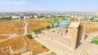 Арыстан Баба, Х.А.Яссауи священные мавзолеи Казахстана. Съемка с высоты птичьего полета.
