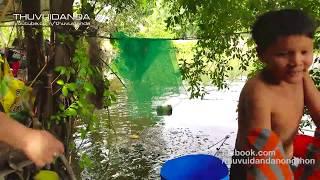 Bẫy  Sông Dính Con Rắn Bự Chả Biết Trăn hay Nưa có 9 Mũi  l Big Snake in Fish Trap