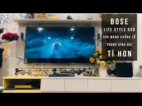 Lắp đặt Hệ thống giải trí tại gia Bose Lifestyle 650