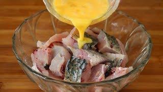 这才是鱼肉最好吃做法,打入2个鸡蛋,我家一周做5次,太香了!