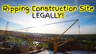 Ripping Construction Site & Crane Dive with Permission!   FPV Poland   21conceptFPV