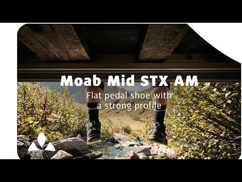 Flat pedal shoe: Moab Mid STX AM | VAUDE