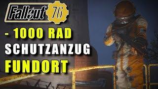 Schutzanzug mit 1000 RAD   Fallout 76 Fundort   PS4