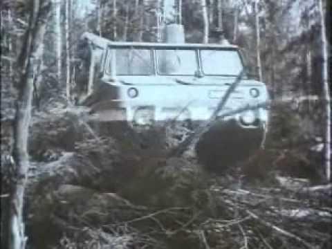 Rosyjskie ciężarówki w akcji