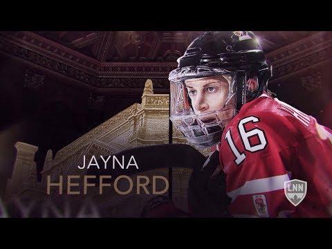Hockey Hall of Famer: Jayna Hefford