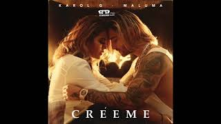 Karol G Ft Maluma   Creeme ( Audio Oficial )