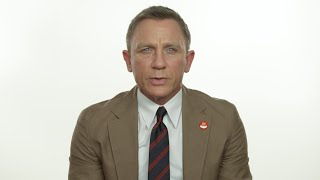 Daniel Craig Message for Mine Action Day