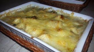 Рецепт: Жюльен из курицы с грибами