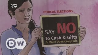 How candidates 'buy' votes in India   DW English