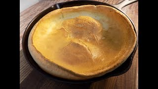 Cast Iron Skillet Dutch Baby