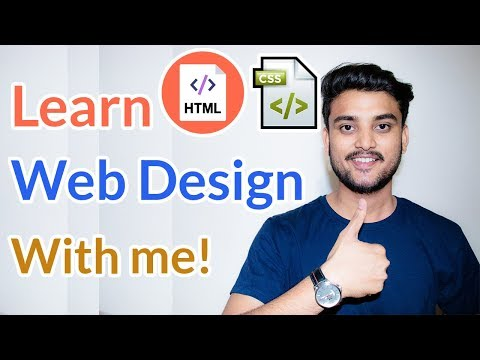 Learn Web Design With Me! -  Web Designing Course - Hindi