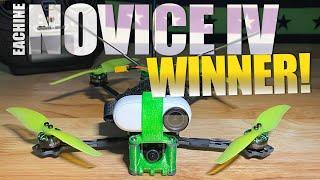 EACHINE Novice 4 RTF WINNER - August 2021 DRONE NEWS