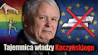 W jaki sposób Kaczyński manipuluje ludźmi. Tajemnica władzy Prezesa. Jan Piński.