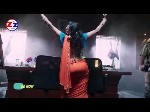 Bold & Beautiful Actress Kasturi Big Back in Traditional Backless Blouse & Saree ¦ Hot