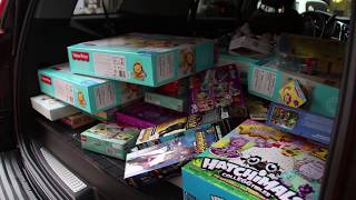 Donating Toys to Mac Kids