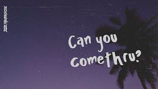 Jeremy Zucker   Comethru (Lyric Video)