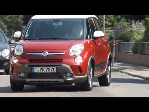 Fiat 500L Trekking review Interior and Driving - Autogefühl Autoblog