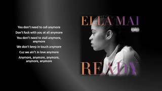 Ella Mai - Anymore (Lyrics)