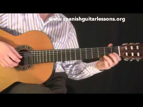 Spanish Guitar Lessons - Tabs, Songs, Chords and Scales!