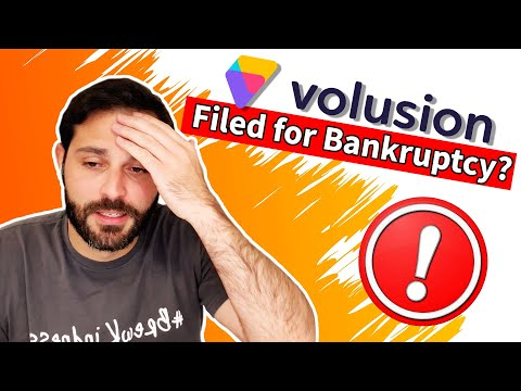 Did Volusion File For Bankruptcy? What This Means For eCommerce and For You If You Are On Volusion