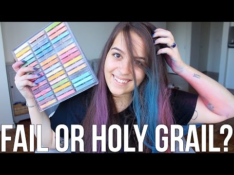 Beauty Hacks: Fail or Holy Grail? ♥ DIY Hair Chalk | Ellko
