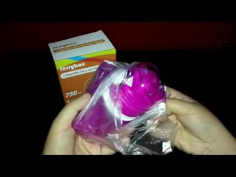 RECENSIONE-UNBOXING JerryBox Bottiglia d'Acqua  Pieghevole in  Silicone