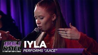 "Iyla Performs ""Juice"" LIVE In Studio At 106.1 KMEL"