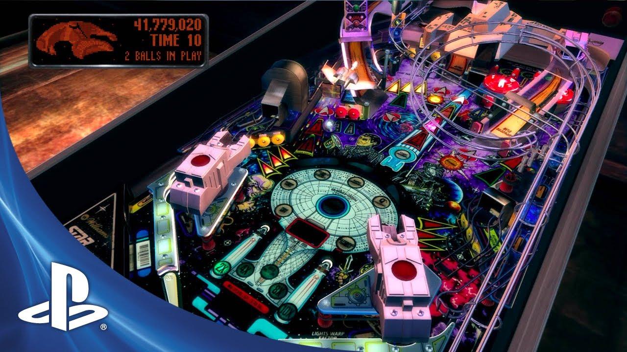 Star Trek: The Next Generation Warps to The Pinball Arcade Today