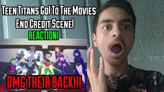 Teen Titans Go! To The Movies End Credit Scene Reaction!