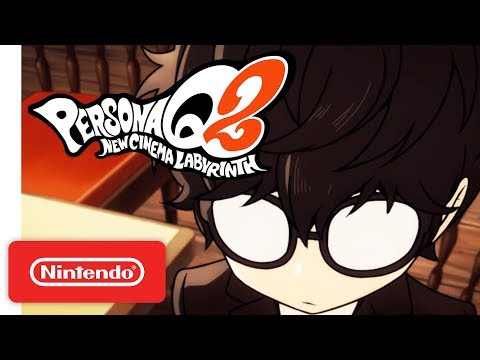 Persona Q2: New Cinema Labyrinth - English Story Trailer | GBAtemp