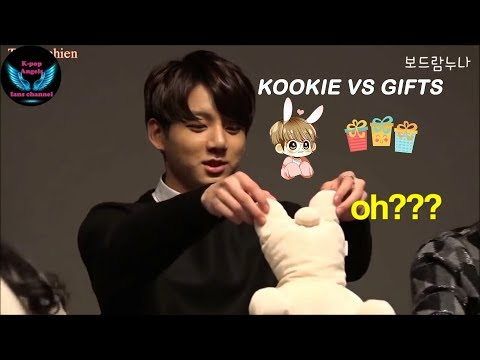 How ARMY and BTS hyungs love Jungkook 정국 #1 Kookie vs gifts