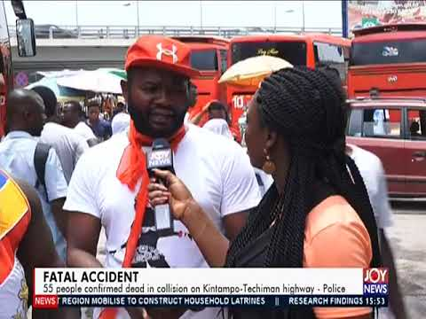 Fatal Accident - The Pulse on JoyNews (22-3-19)