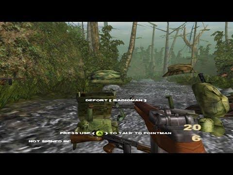 Cxbx-Reloaded Xbox Emulator - Vietcong: Purple Haze Ingame (3c201d7 + WIP /  HW Mode FXAA) - John GodGames Emus