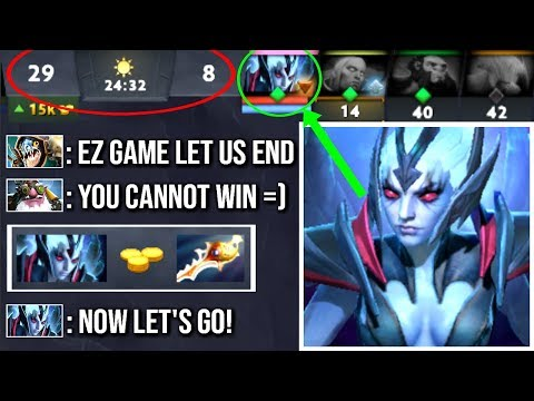 When All Core Heroes Fail and They Think its Over But, Divine Rapier Vengeful 7.16 Carry WTF Dota 2