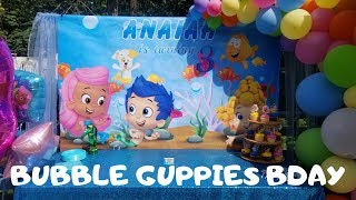My Daughters Bubble Guppies Themed Bday Party 🎉🎈